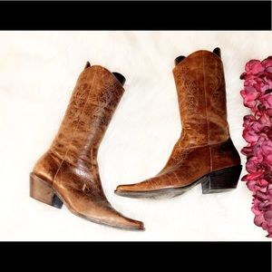 MATISSE Leather Western Boot